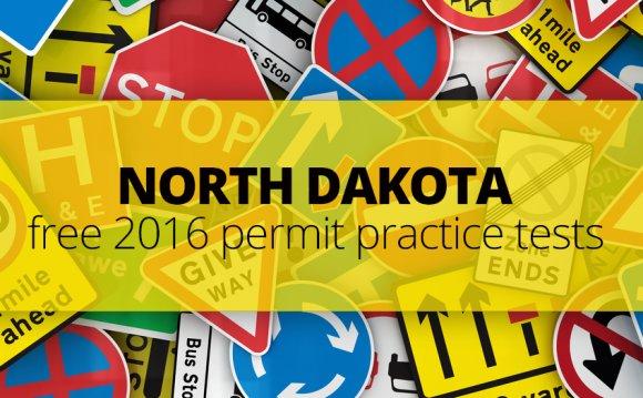 FREE North Dakota DMV Permit
