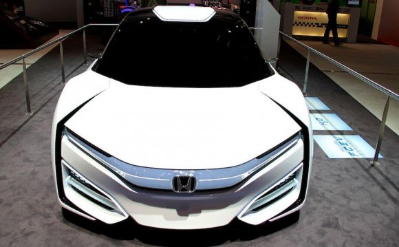 Honda FCEV Concept at the