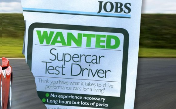 How to be a test driver