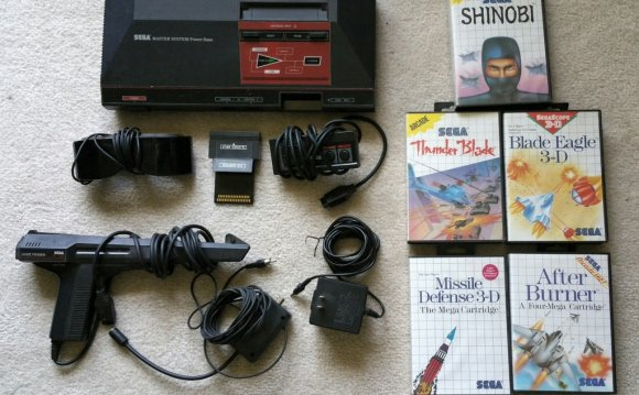 And now I have a Master System