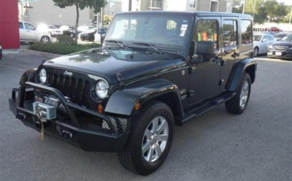 Forest Green Jeep Wrangler