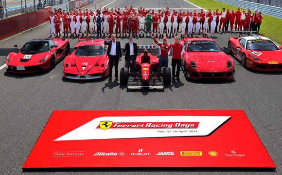 Ferrari Racing Days – Close to