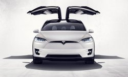 Tesla, Model X, falcon doors, mpg, electic car