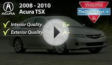 Acura TSX - CarMD Used Car Review and Rating