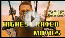 Highest rated movies of 2015
