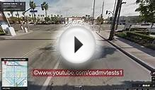 Long beach, California DMV Behind the wheel test route #5